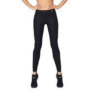Sports tights Dame sort - Xsmall - Organic Bamboo Eco Wear