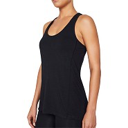 Sports tank top Dame sort - Small - Organic Bamboo Eco Wear