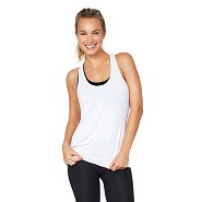 Sports tank top Dame hvid - Xlarge - Organic Bamboo Eco Wear