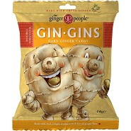 Ingefær bolcher hard GIN-GIN - 150 gram - Ginger People