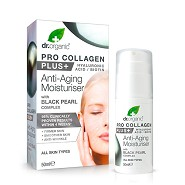 Pro Collagen+ Anti-aging Moisturiser Black Pearl Complex - 50 ml - Dr. Organic
