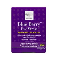 Blue Berry Eye Stress - 60 tabletter - New Nordic