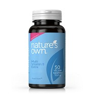 Multi Vitamin B Extra - 50 tabletter -  Natures Own