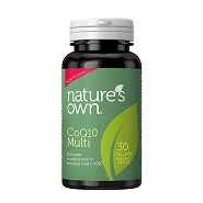 CoQ10 Multi - 30 kapsler - Natures Own