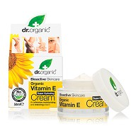 Cream Vitamin E - 50 ml - Dr. Organic Vitamin E