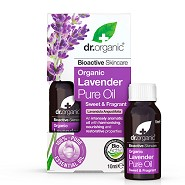 Pure Oil Lavender - 10 ml - Dr. Organic