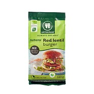 Red lentil burger mix Økologisk - 160 gram - Urtekram