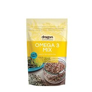 Omega 3 Mix Økologisk - 200 gram - Dragon Superfoods
