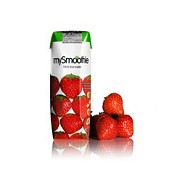 mySmoothie Jordbær - 250 ml