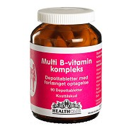 Multi B-Vitamin kompleks  - 90 tab - Health Care