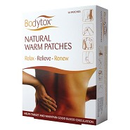 Natural Warm Patches 14 stk - 1 pakke  - Bodytox