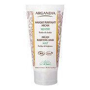 Purirying Face Mask Mint - 75 ml - Argandia