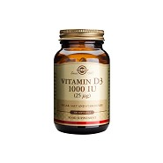 D-Vitamin 25 mcg softgels (1000 IE) - 100 kap - Solgar