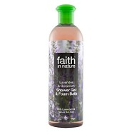 Shower gel lavendel - 400 ml - Faith in nature