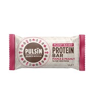 Protein bar maple & peanut Pulsin - 50 gram