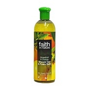 Showergel grape orange  - 400 ml - Faith in nature