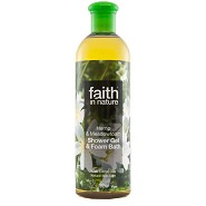 Showergel hamp engrapgræs - 400 ml - Faith in nature