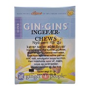 Ingefær chews super 30% (blød ingefær karamel) - 31 gram - Ginger People