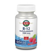 B12 Methylcobalamin - 90 tabletter - Kal