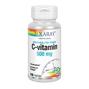 C-vitamin 500 mg Solaray - 100 kap - DISCOUNT PRIS