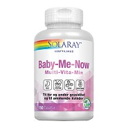 Baby-Me-Now multi vit/min. - 150 tab - Solaray
