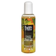 Shower gel grape & orange - 100 ml - Faith in Nature