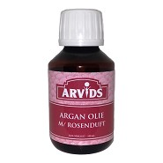 Argan olie med rosenduft - 100 ml - Arvids