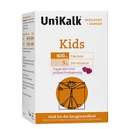 UniKalk Kids tyggetablet  - 90 tabletter