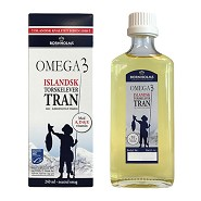 Torskelevertran Omega 3 - 240 ml - Lysi
